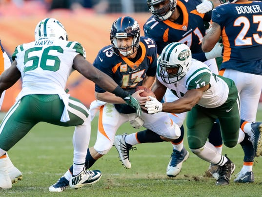 NFL: New York Jets at Denver Broncos