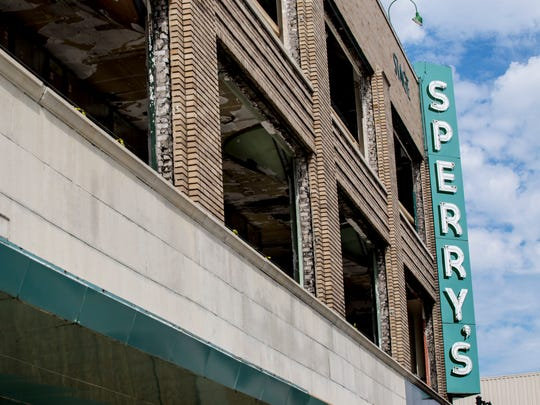 Sperry's Movie House in downtown Port Huron.