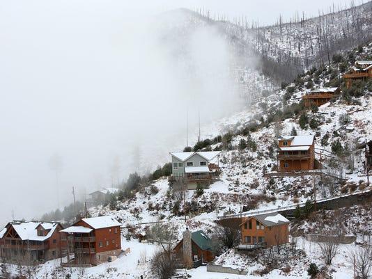 Snow on the Catalinas