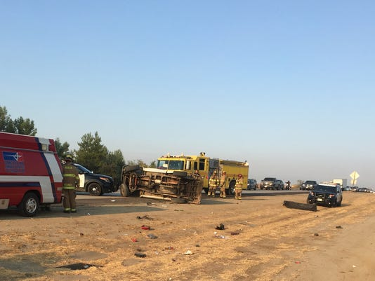 Two Injured In Highway 198 Crash