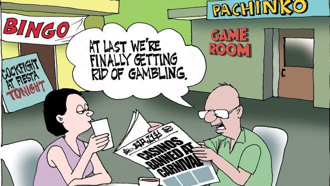 Sunday cartoon for 06/04/2017.