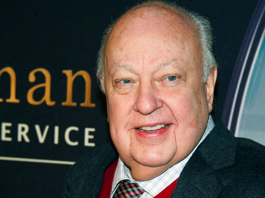 "FILE - In this Feb. 9, 2015, file photo, Roger Ailes attends a special screening of ""Kingsman: The Secret Service"" in New York. In the summer of 2016, Ailes, who helped build Fox News into a ratings behemoth, departed the company following allegations of sexual harassment, and left with a $40 million severance. Ailes was chairman and CEO of Fox News, and with Bill O'Reilly as a high-profile host, pushed it to become the most-watched U.S. cable-news channel. O'Reilly is now out at Fox and is reportedly in line to get up to $25 million following his ouster amid allegations of sexual harassment."