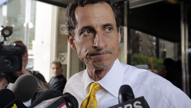 Former U.S. Rep. Anthony Weiner, D-N.Y., caused a stir in Delaware in 2011 when he had a Twitter conversation with a 17-year-old girl.