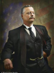 """Actor Joe Wiegand will play the part of  """"conservation president"""" Theodore Roosevelt at 'Ding' Darling today."""