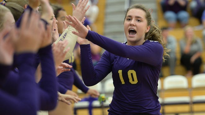 Fort Collins High School's Gracyn Voggesser has been named the Coloradoan's Female Athlete of the Week.