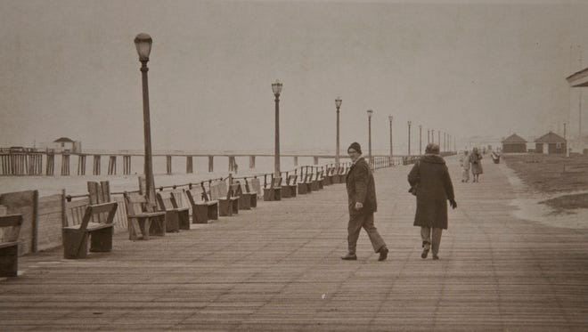 1978 Ocean Grove boardwalk. Asbury Park Press File Photo