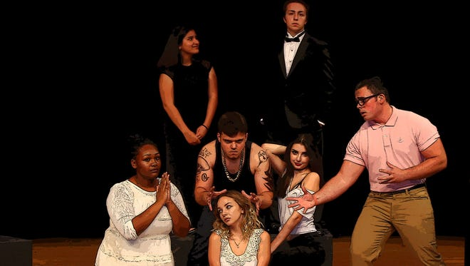 """""""For What It's Worth"""" is a musical written by  St. Lucie West Centennial High School drama teacher Samantha LaCroix and her former student Ryan Freeman."""