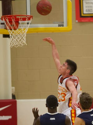 Sophomore point guard Alex Barcello continued to show his big-game grit for Corona del Sol