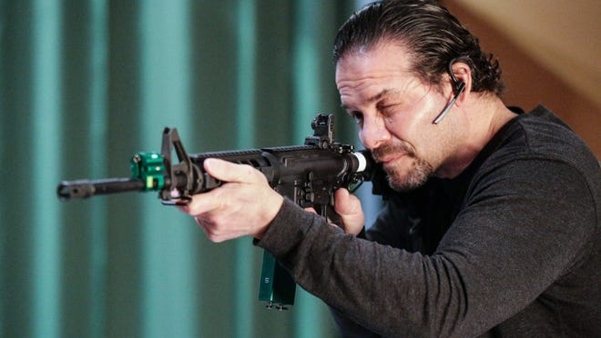 Jesse Barnett, a retired Navy SEAL, is owner of the Poseidon Experience, an advanced firearms training simulator.