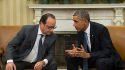 President Obama and French counterpart Francois Hollande