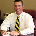 Gage Kent, CEO of Kent Corp., a Muscatine-based grain and livestock feed processor.