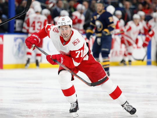 Dylan Larkin has a good shot of eventually becoming the Red Wings' captain.
