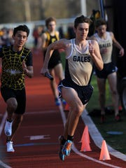 Lancaster senior Drew Ward is one of many outstanding runners returning for the Golden Gales' boys track and field team.