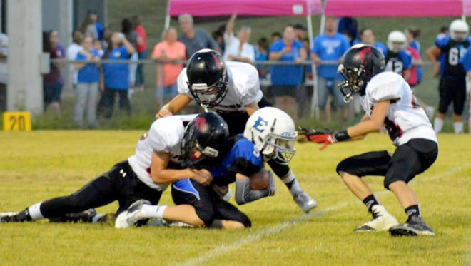 Fairview Middle School Falcon defeats East Hickman Middle September 22, 2016.