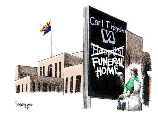 Cartoon for June 8, 2018.