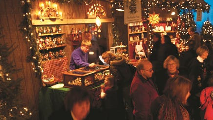 The 10-day holiday market at the Osthoff  is open daily from 10 a.m. to 5 p.m. beginning Friday, Dec. 1 and ending Sunday, Dec. 10.