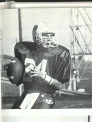 Quarterback Dustin Dewald set numerous passing records