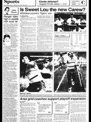 Battle Creek Sports History - Week of May 14, 1985