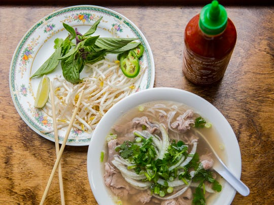 May 9, 2016: Pho from Le's Sandwiches and Pho's on