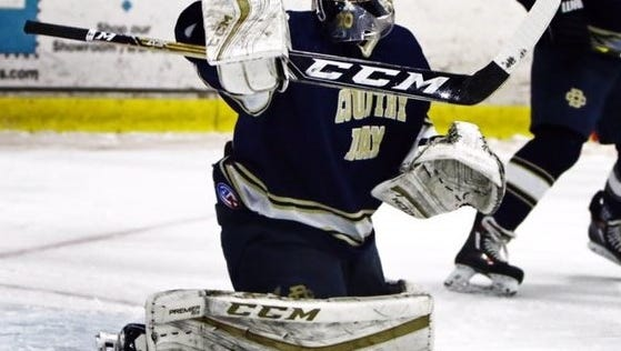 Detroit Country Day's junior goalie Sam Evola was named the 'Athlete of the Week.'