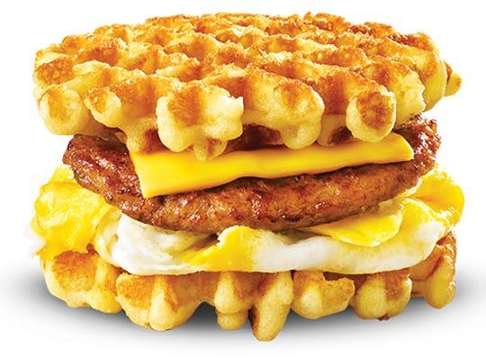 White Castle's Waffle Slider.