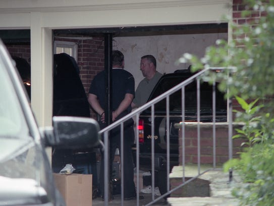 Search for Anne Marie Fahey at the Capano home July