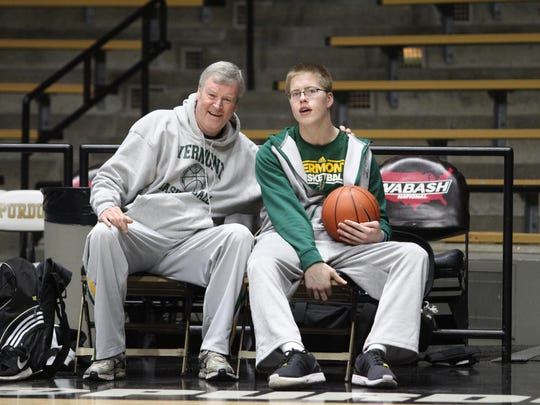 Former University of Vermont men's basketball coach