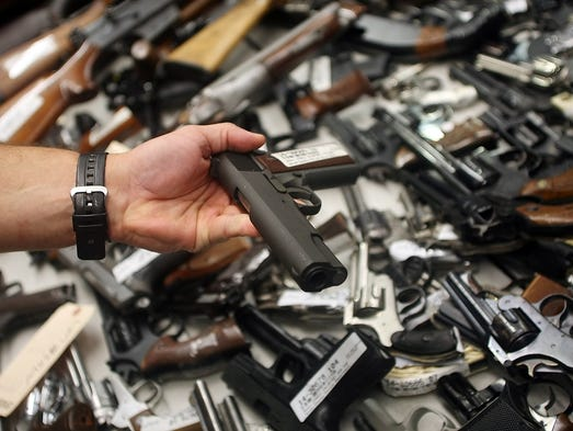 Nearly 500 guns collection in Union County amnesty program
