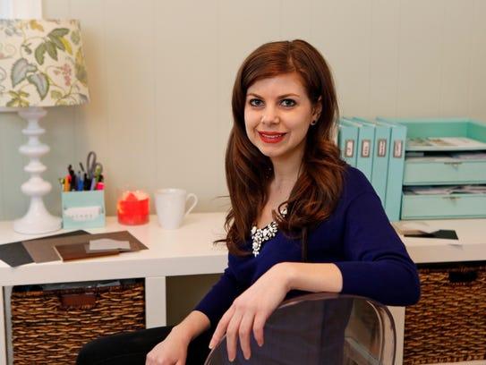 Brittany Zachos, principal designer of the Zachos Design