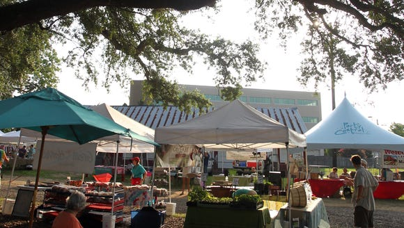 The Lafayette Farmers and Artisans Market at the Horse