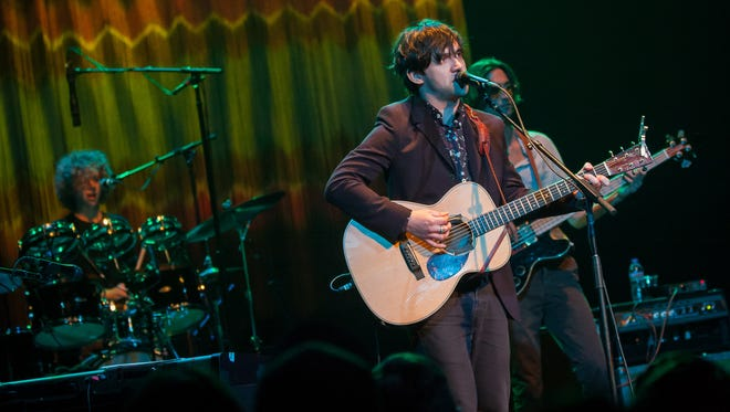 Conor Oberst performs at the Pabst Theater Friday.
