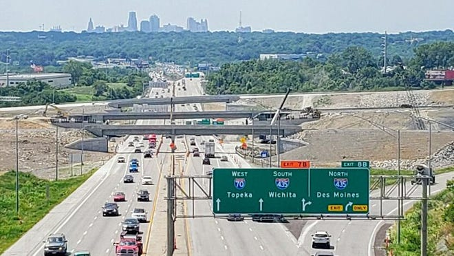 Major reconstruction of the interchange of Interstates 70 and 435 near the stadiums has been underway for more than a year and is scheduled to be completed by the end of this year.