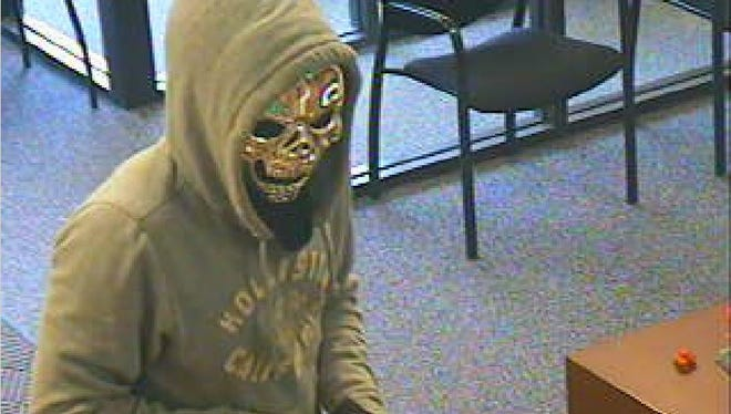 According to deputies, the man in this photo robbed a bank in Elba, Genesee County, Tuesday.