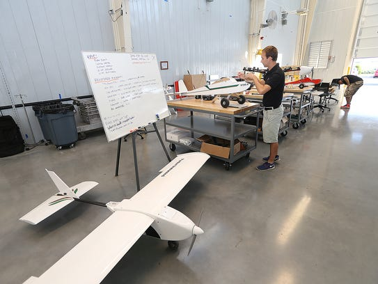 A fleet of unmanned aerial systems (UAS) can be developed,