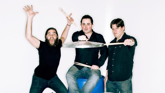 Catch high energy comedy percussion group rePercussion Jan. 19 at MSU's Akin Auditorium. The concert is part of the university's Artist-Lecture Series.