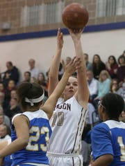 Sarah Lyons is a lefty who can be an effective scorer