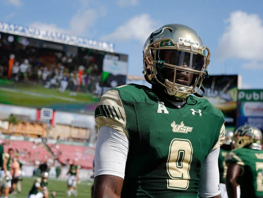 NCAA Football: East Carolina at South Florida