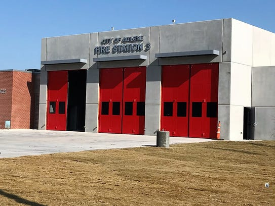 The new Fire Station No. 3  is scheduled to be completed