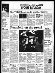 Battle Creek Sports History: Week of Oct. 6, 1996