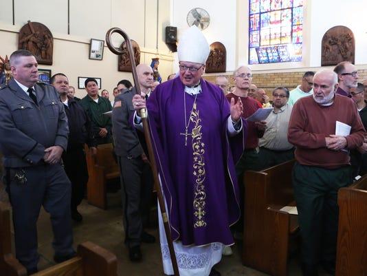 Cardinal Dolan visits Sing SIng