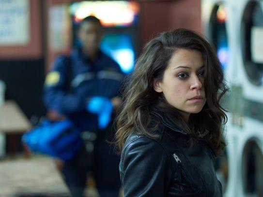 """Tatiana Maslany as Sarah Manning in """"Orphan Black."""""""