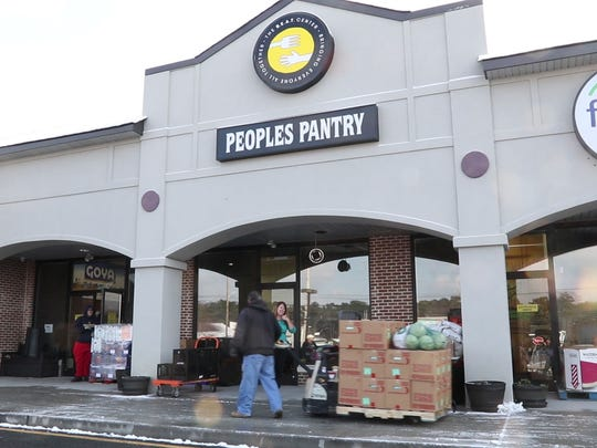 Peoples Pantry of Toms River has seen an increase in residents of northern Ocean County with a need for food assistance. Director Pat Donaghue says they are helping to feed between 3,000 and 4,000 people a month.  Toms River, NJThursday, December 14, 2017@dhoodhood