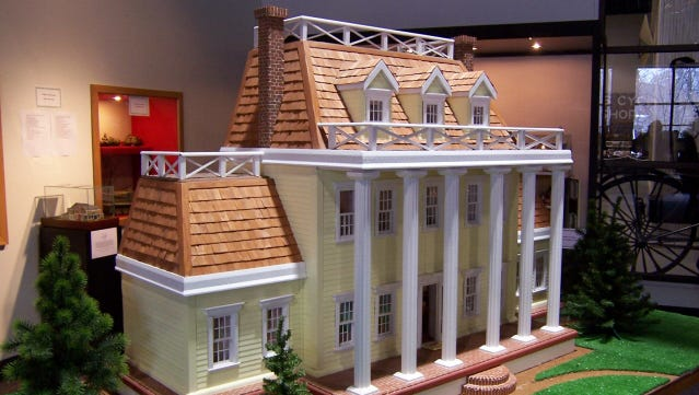 This photo is from the 2008 Dollhouse and Miniature Show at the Glenn H. Curtiss Museum of Local History in Hammondsport, Steuben County.