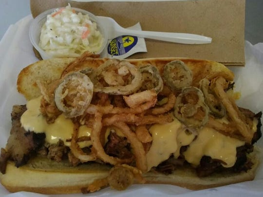 Wilma's prides itself on its brisket and, in addition to an entree, also offers it on a bun via the Brisket Philly.