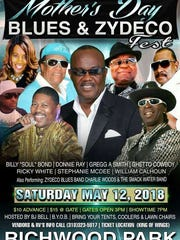 Blues & Zydeco Festival is Saturday.