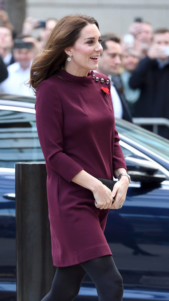 Duchess Kate arrives for the Place2Be School Leaders