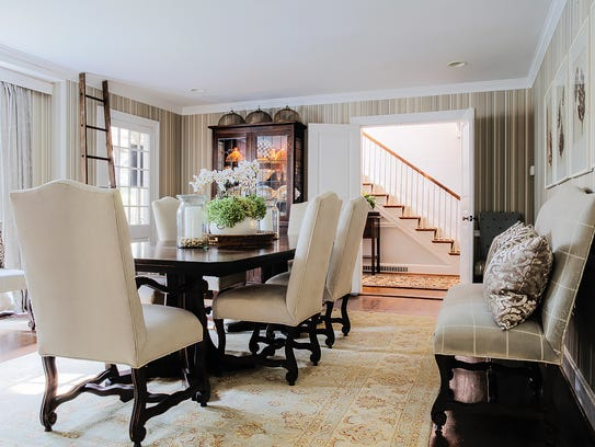 Inspired color and fabric choices helped make the living
