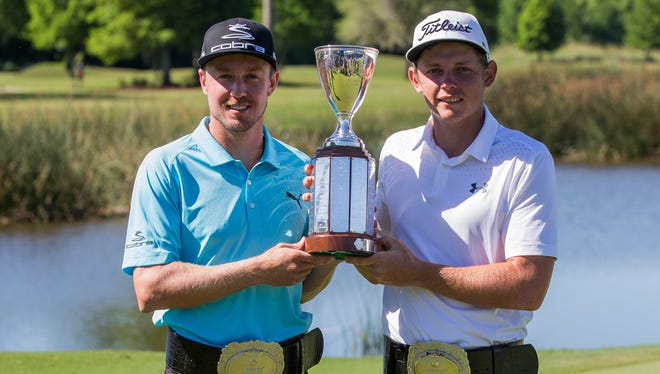 Week 26 - Jonas Blixt and Cameron Smith: Zurich Classic of New Orleans at TPC Louisiana.