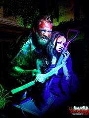 Zombies and the undead are just a few of the horrors visitors can expect to find within the walls of the Haunted Scarehouse in Wharton.
