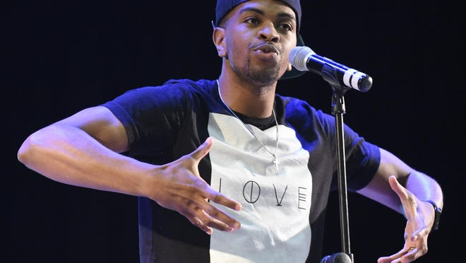 "Stockton spoken-word artist Brandon Leake, who recently had a successful appearance on NBC's ""America's Got Talent,"" will be included in a live #WordsOutspoken performance Aug. 15."